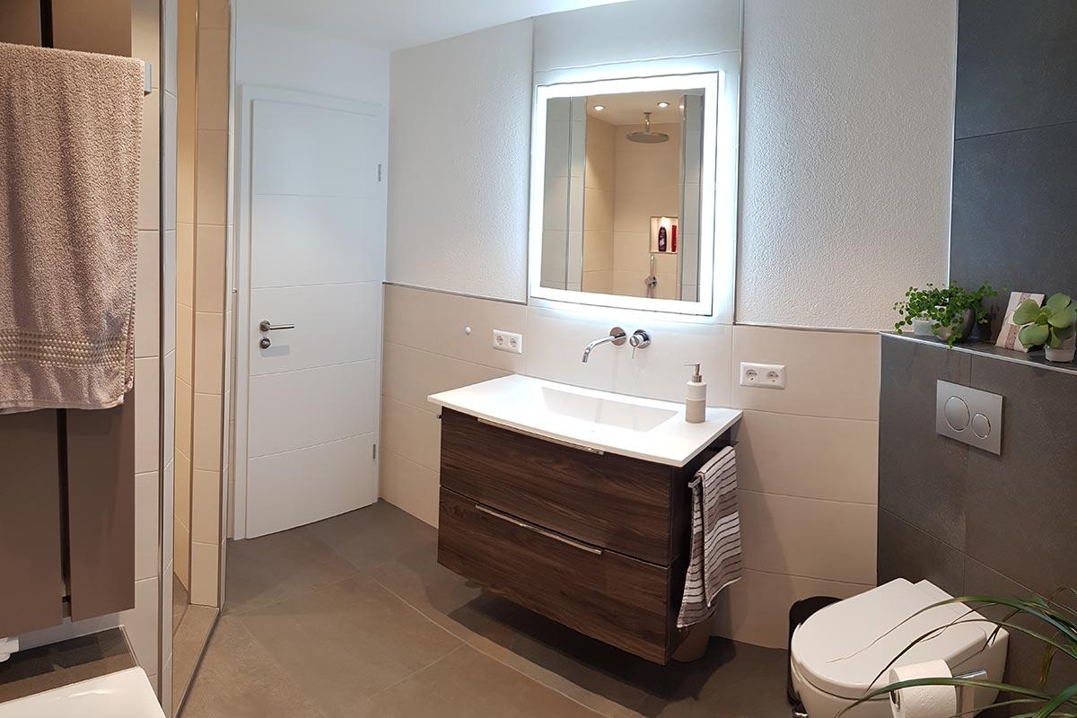 Badgestaltung Bruchsal Sanitärfirma R+M Heizungsbau GmbH
