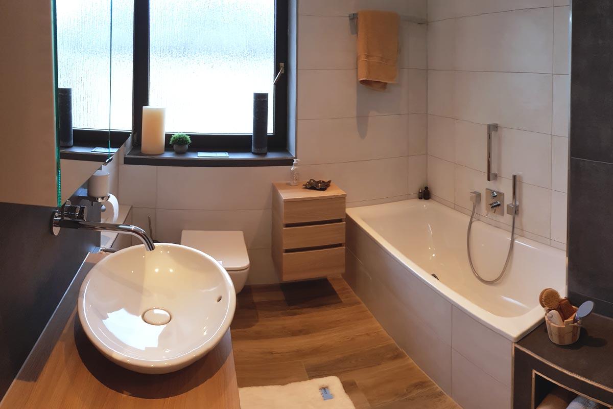 Kundenbäder Sanitärfirma in Bruchsal bei Karlsruhe
