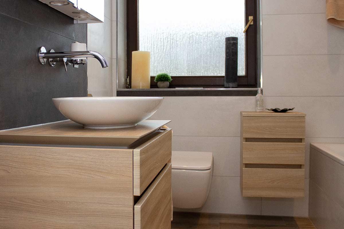 Bäder Sanierung und Neubau, neues Badezimmer Bruchsal